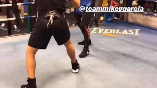 Mikey Garcia Getting Big Sparring Partners