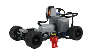 Lego simple RC car chassi with instructions