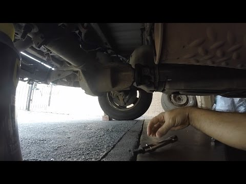 Ford F150 Drive Shaft Fix