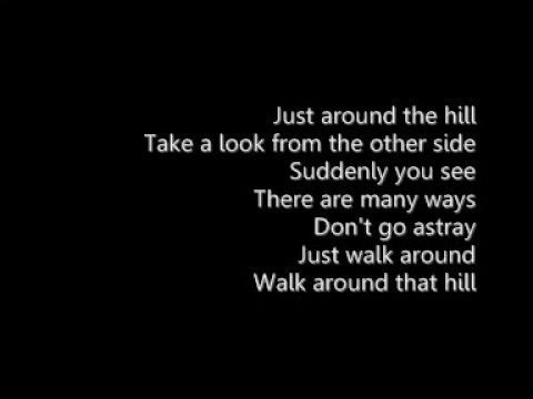 SASH - Just Around The Hill + LYRICS