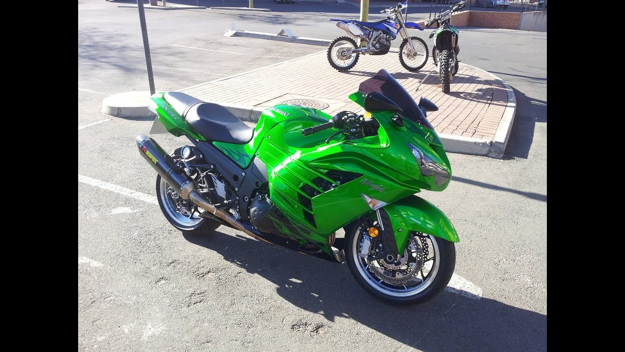 2012 Kawasaki ZX14R (ZZR1400) Top Speed and Acceleration Test Ride ...