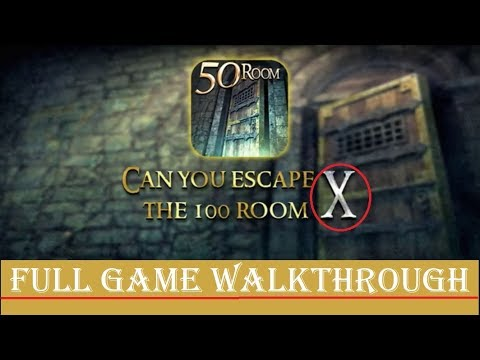 Can You Escape The 100 Rooms 10 ( X ) Walkthrough FULL