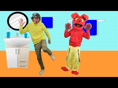 Daily Routine Freeze Song with Matt and Tunes | Action Songs | Learn English Kids