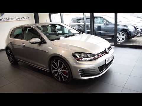 USED VOLKSWAGEN GOLF 2.0 GTI PERFORMANCE DSG 5DR AUTO 226 BHP 1 owner full vw service history