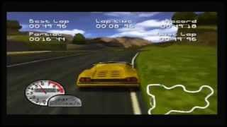 Roadsters Trophy (N64) - Time Trial on all Tracks