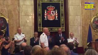Rafael Matrona jura su cargo como nuevo Comisario Jefe Provincial de la Policía Nacional