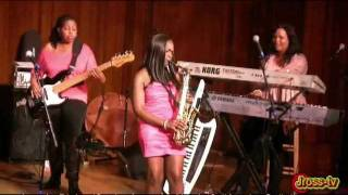 James Ross @ Jazz In Pink - (Sax Solo) Jeanette Harris & (Keys Solo) Gail Jhonson - Jross-tv