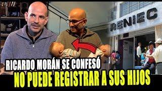 RICARDO MORÁN NO PODRÍA REGISTRAR A SUS HIJOS EN PERÚ POR...