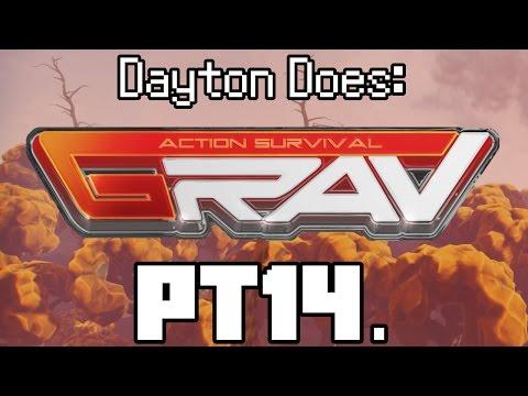 GRAV Solo : Pt14. The Ploppit's Revenge. Low Level Planets. (Grav Gameplay, Steam PC Single Player)