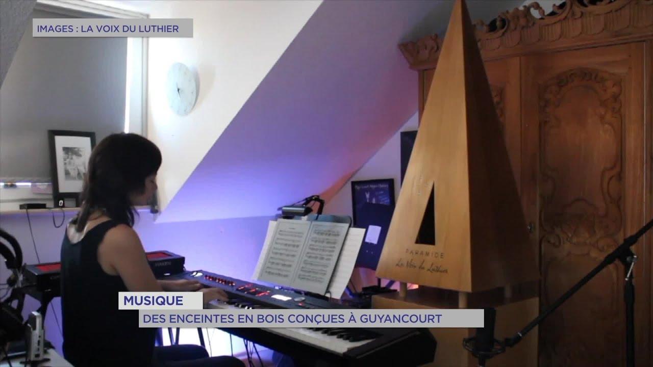 Yvelines | Musique : Des enceintes en bois conçues à Guyancourt