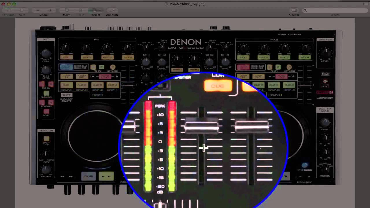 denon mc6000 firmware