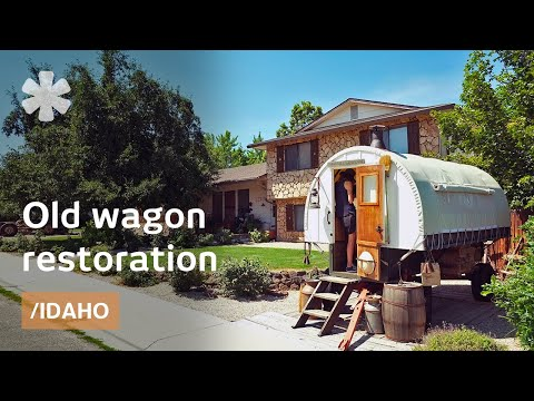 Sheep Wagons As Classic Campervan: The Airstream Of Pioneers - Youtube