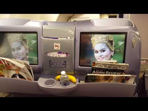Thai Airways Business Class [Royal Silk] on A330 (Hanoi to Bangkok to Sydney)