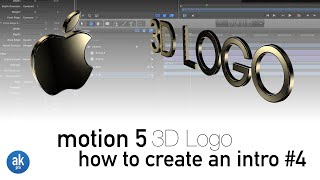 How to Create a 3D Logo using Fonts in Motion 5.2(Logos Font Download: http://bit.ly/logosfont Project File: http://bit.ly/akpro-downloads In this video by AkProFilms I will show you how to create a 3D logo in ..., 2015-04-26T19:09:39.000Z)