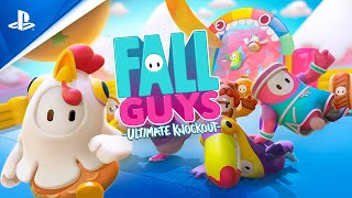 Fall Guys | Release Date Trailer | PS4