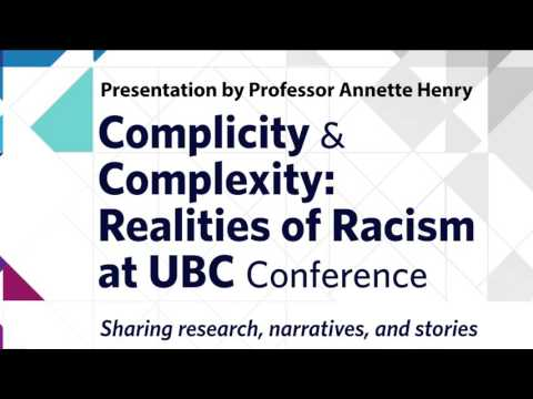 We especially welcome applications from visible minorities - Keynote by Professor Annette Henry