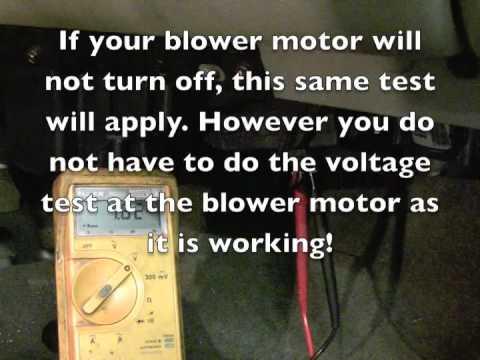2006 Gmc Envoy Cooling Fan Wiring Diagram 2005 Chevrolet Tahoe Blower Not Working Youtube