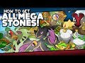 pokémon x and y all mega stone locations guide
