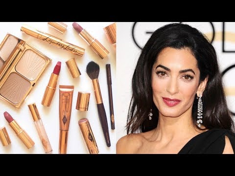 Amal Clooney Makeup Bag | Sophisticated Glamour by Charlotte Tilbury