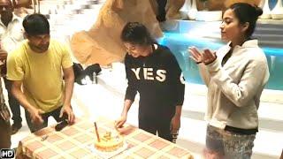 "Rashmika Mandanna ""Bheeshma Movie Song Sets"" | Jani Master Celebrate Shresti Birthday Full Video"
