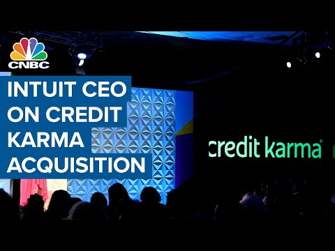Intuit CEO on Credit Karma acquisition: We want to be the 'financial assistant in your pocket'