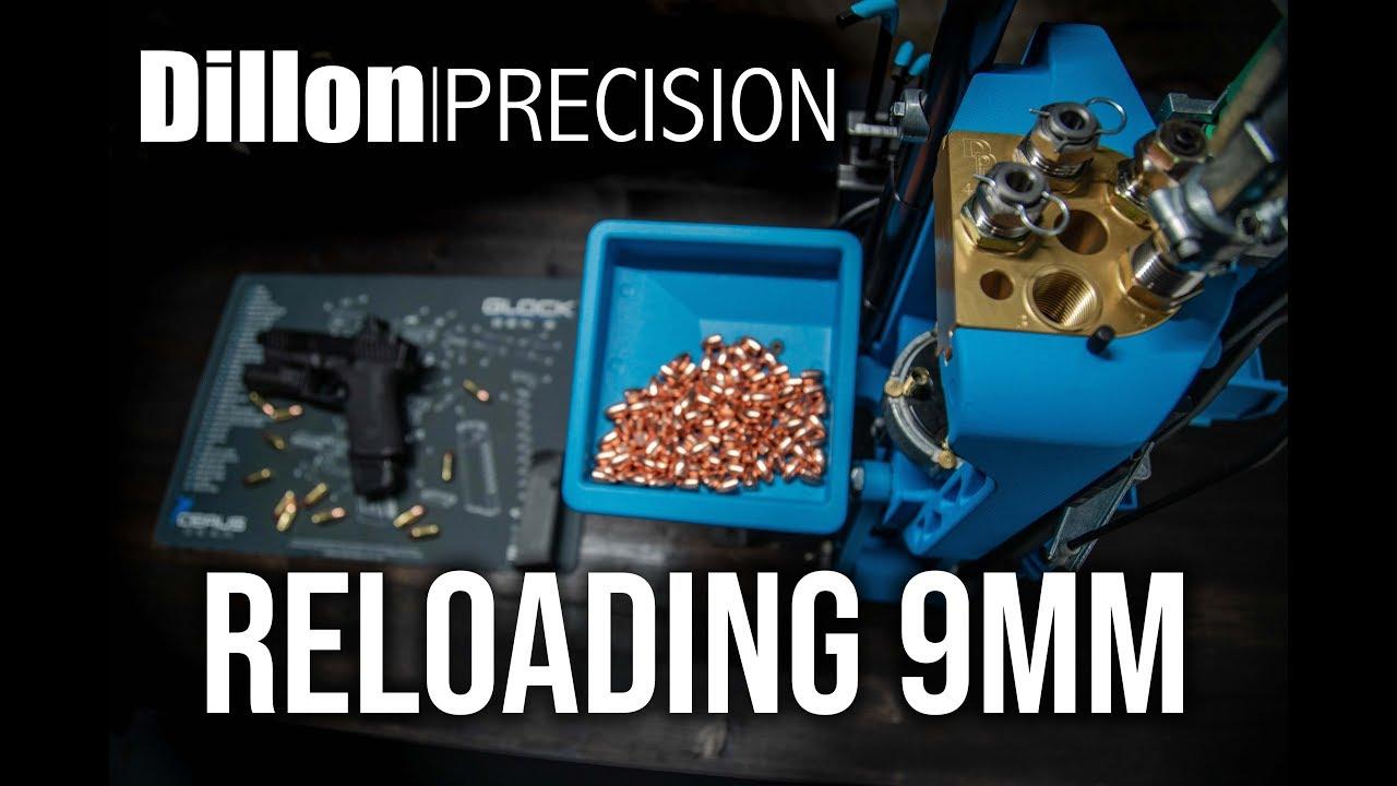 Dillon Precision 9mm Reloading