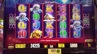TIMBERWOLF Deluxe Slot Big Win Bonus ~ x50 Pick