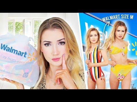 TRYING SWIMSUITS FROM WALMART | I Am Impressssseddd!!!