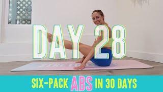 GET SIX-PACK ABS IN 30 DAYS CHALLENGE! Day 28: Slimnastics! #StretchyFitAbs