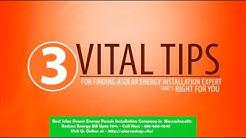 Best Solar Power (Energy Panels)  Installation Company in Pinehurst Massachusetts MA