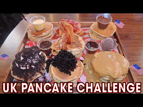 Infamous 21 PANCAKE CHALLENGE in Manchester