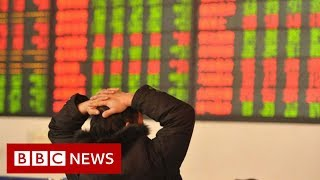 Coronavirus: China shares in biggest fall in four years - BBC News
