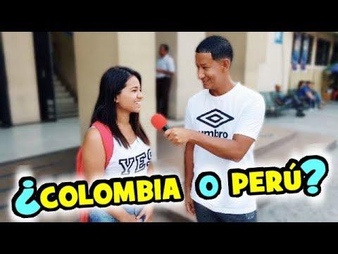 ¿Qué país prefieren los ECUATORIANOS? | COLOMBIA o PERÚ