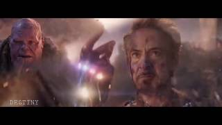 Avengers Endgame Music Video Marvel Ironmantribute Spiderman Thor Tonystark Captainamerica