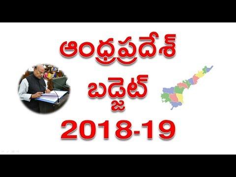 AP Budget 2018-19 ఆంధ్రప్రదేశ్ బడ్జెట్ 2018-2019 Andhra Pradesh State Budget