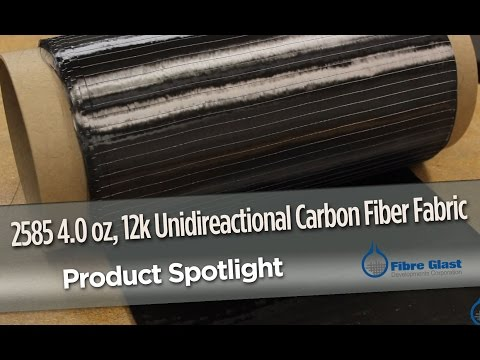 Unidirectional Carbon Fabric (4.0 oz)