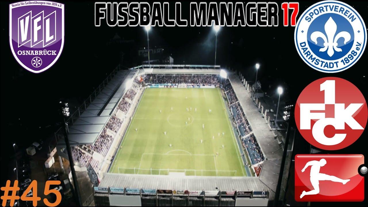 Sv Darmstadt 98 Vfl Osnabruck 11 12 Spieltag Lets Play Fussball Manager 17 45