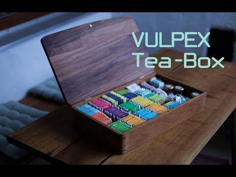 VULPEX HANDMADE PASSION - Tea Box / Holzbox / Carpentry / Woodwork /  DIY