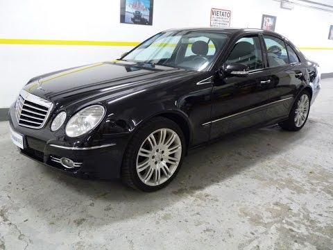 Mercedes benz e 320 cdi evo avantgarde km navi for Mercedes benz e 320 cdi