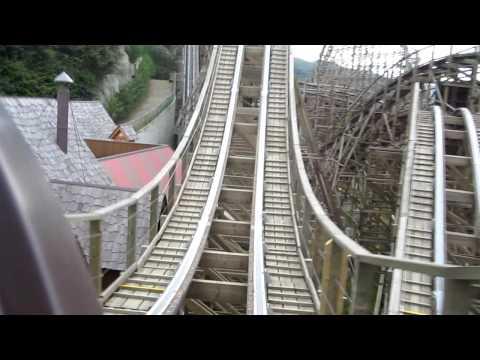 T Express - Everland Rollercoaster - Full Ride Video