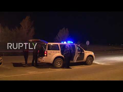 Spain: Arrested Catalan leaders brought to Estremera prison