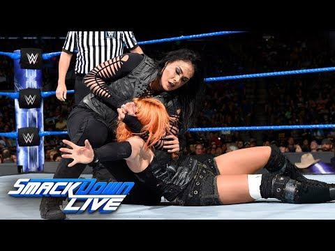 Charlotte Flair & Becky Lynch vs. Natalya & Tamina: SmackDown LIVE, July 11, 2017