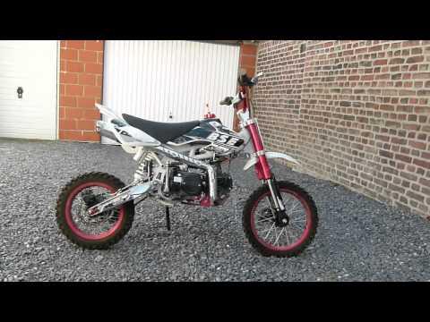 dirt bike BSE 125CC moteur Lifan