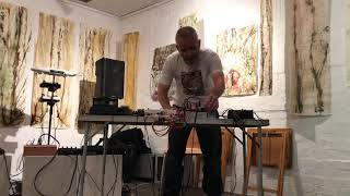 The slate pipe banjo draggers - Live at Hundred Years Gallery, London (13/10/2019)