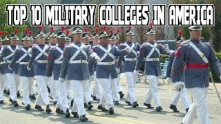 Top 10 Military Colleges in America