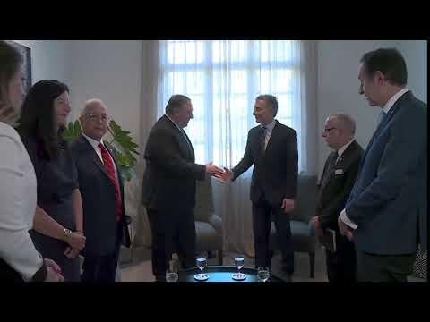 Secretary Pompeo Meets With Argentine President Mauricio Macri.