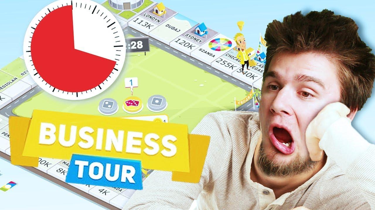 NAJDŁUŻSZA POTYCZKA W HISTORII? NO SCAM! | Business Tour [#21] (With: EKIPA)