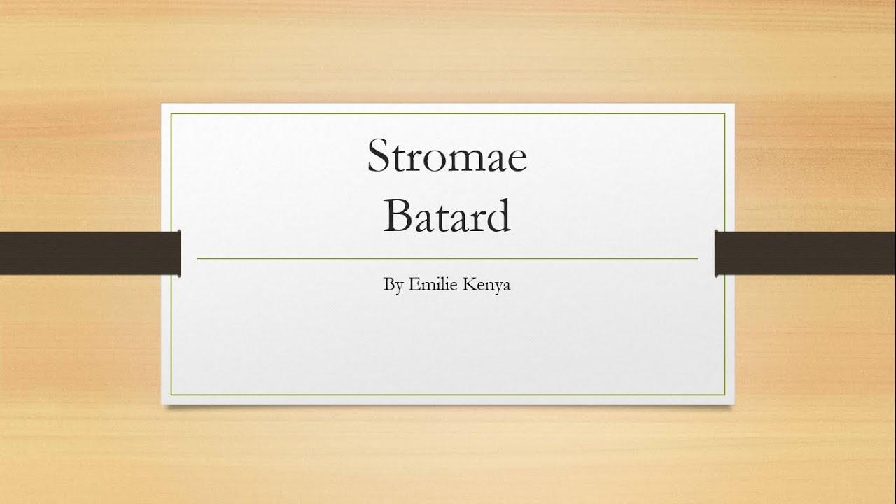 batard stromae