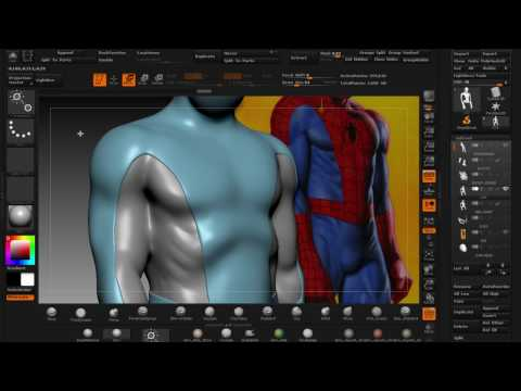 SCULPTING JOE JUSKO'S SPIDERMAN  PART 7
