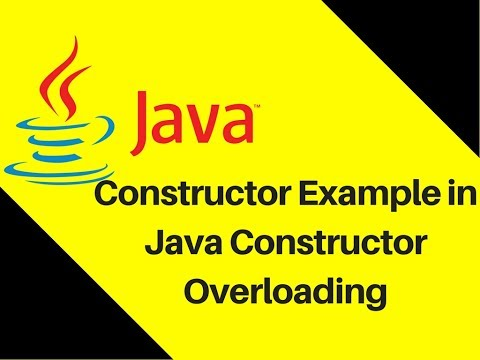 7.6 Constructor Example in Java Constructor Overloading Mp3